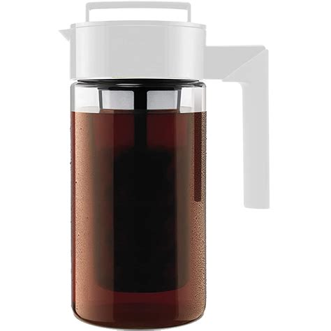 The takeya cold brew maker ($18.99+ on amazon). Takeya Deluxe Cold Brew Coffee Maker - Coffee Innovations