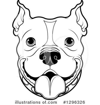 pit clipart black and white pitbull clipart 1296326 illustration by pushkin