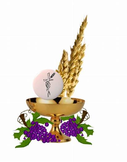 Communion Eucharist Fleurs Deco Transparent Jesus Tubes