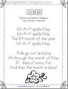 May Calendar Song