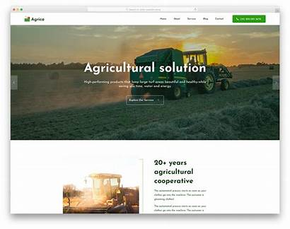 Agrica Template Colorlib Website Agriculture