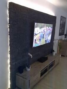Tv Media Wand : steinwand mediawand eigenbau eigenbau mediawand steinwand steinwandmultimedia hifi forum ~ Sanjose-hotels-ca.com Haus und Dekorationen