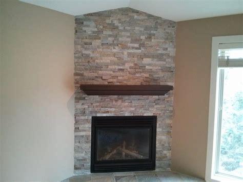Matching ledgestone fireplaces