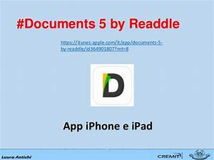 salvare file su ipad With documents by readdle itunes