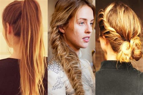 hairstyles for bad hair days