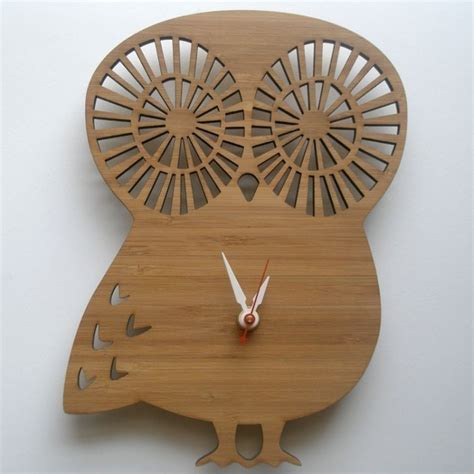woodwork projects wood clock  plans