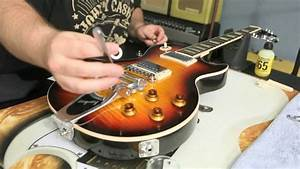 How To Install A Bigsby B7 And Vibramate V7 On Gibson Les