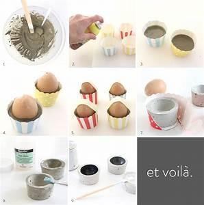 Zement Zum Basteln : es ist diy zeit beton eierbecher lilaliv ~ Lizthompson.info Haus und Dekorationen