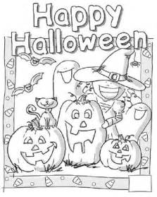 Happy Halloween Coloring Pages Printable