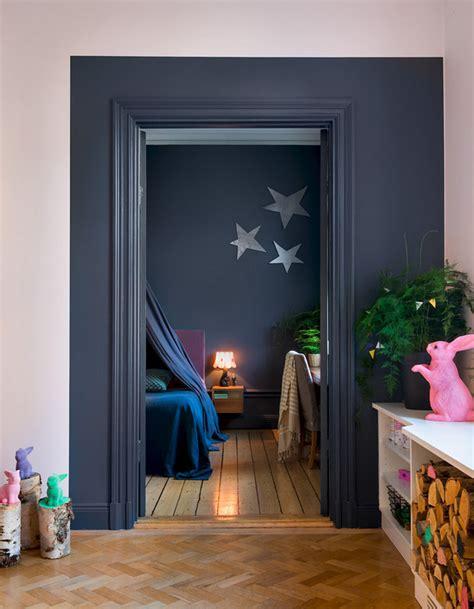un encadrement de porte original peinture murale 20 inspirations pour un int 233 rieur trendy