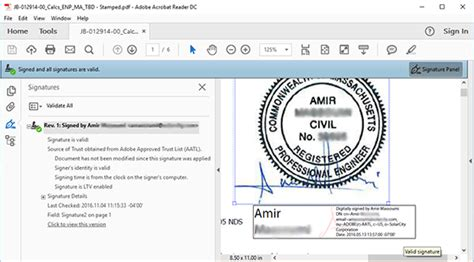 add  electronic digital id  signature stamp image