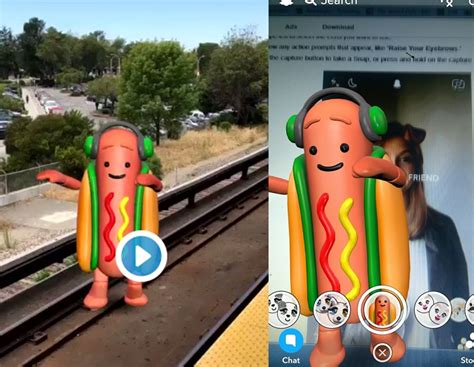 How To Get Snapchat Hot Dog Filter Or How To Apply Dancing