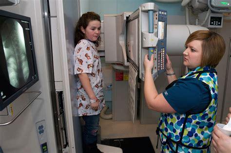 radiology esophagram techs children inside