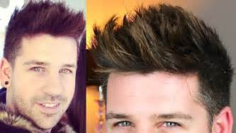 trend style men hair tutorial tigi wax stick