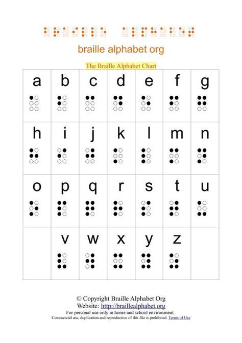 Note Card Template Futuristic Vision Printable Blank Flash Best 25 Braille Alphabet Ideas On Brail