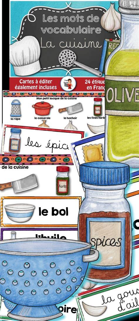 vocabulaire cuisine 188 best images about vocabulaire fle on