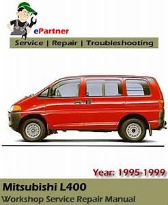 Mitsubishi L400 Service Repair Manual 1995