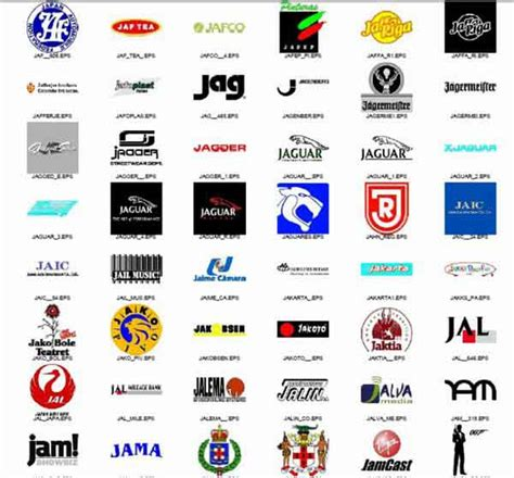 koleksi logo  bentuk vector logo inspirations
