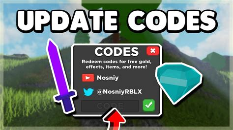 roblox treasure quest codes  weapons roblox  dominus