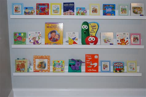 Wall Bookshelf For Nursery Thenurseries