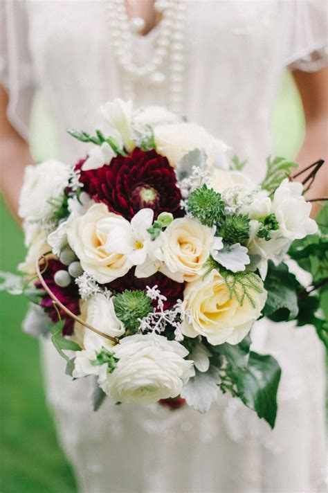 Party Theme Great Gatsby Wedding Bouquets Bride