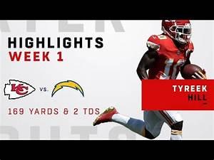 Tyreek Hill's Huge Game w/ 169 Receiving Yards & 2 TDs ...