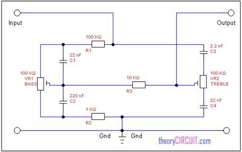 Transistor Tone Control Circuit Diagram Images