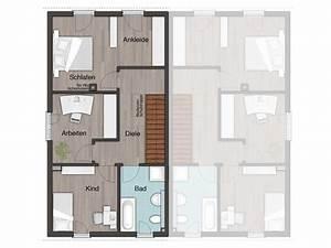 Doppelhaus Grundriss Beispiele : doppelhaus aura 125 town country haus ~ Lizthompson.info Haus und Dekorationen