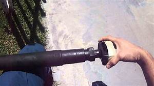 1959 Impala Telescoping Driveshaft For Airbags Or Hydraulic Setups