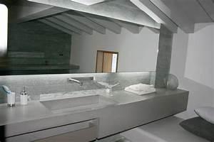 Beton Ciré Salle De Bain Sur Carrelage : b ton cir taloch contemporain salle de bain paris par 3dco ~ Preciouscoupons.com Idées de Décoration