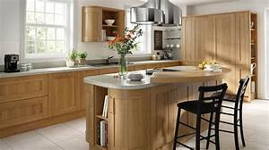 Lissa Oak Wood Shaker - Our Kitchens - Chippendale Kitchens