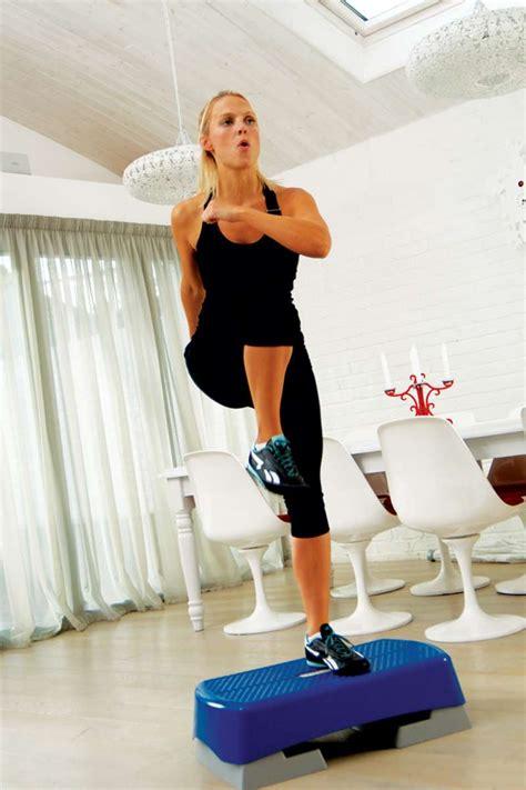 step aerobic workout fuer den knack po bilder fit  fun
