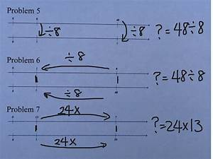 Double Number Line Diagram 2
