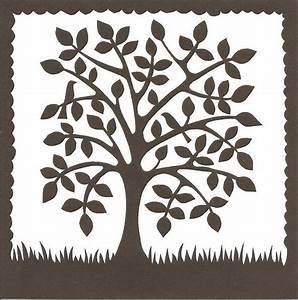 folk art tree fonts printables pinterest rhodos With paper cut family tree template