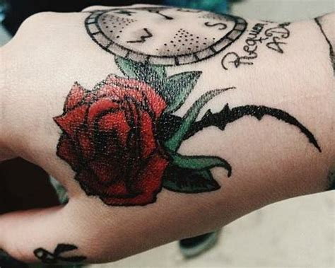 rose tattoos      meanings