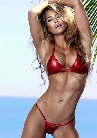 Fitness Models Female Jennifer Lee Nicole Bikini