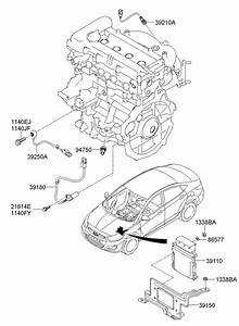 392102b210 - Hyundai Sensor Assembly