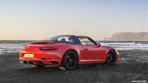 porsche 911 orange 2018 porsche 911 targa 4 gts color lava orange rear
