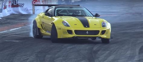 Nexus, cloudy, 53nicolas and 2 others like this. Ferrari 599 Formula Drift Car with Twin-Supercharged V12 Sounds Bewildering - autoevolution
