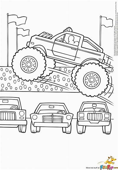 Monster Truck Ausmalbilder Coloring Malvorlagen Jam Trucks