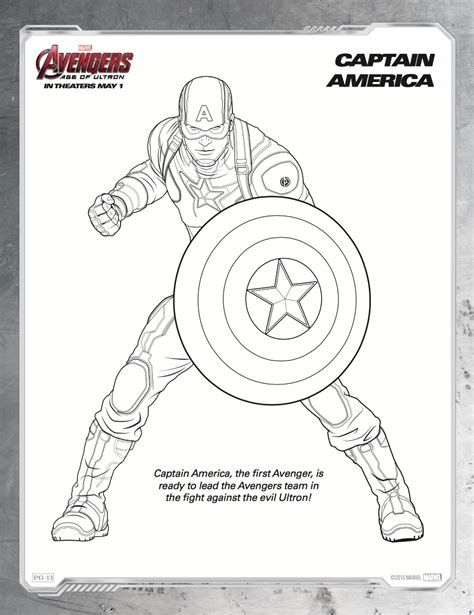 dibujos para colorear de avengers era de ultr 243 n hispana