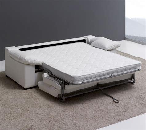 canape concertible canapé lit 3 places narcea couchage quotidien 140 cm