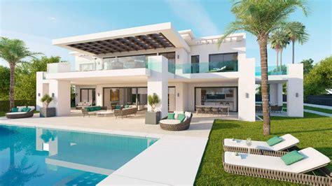 villas floor plans new villa in los olivos nueva andalucia marbella for sale