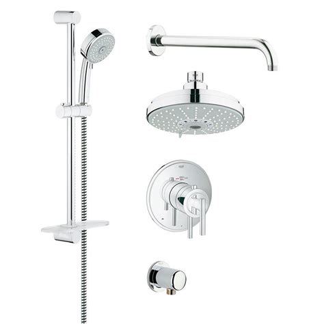 Grohe Shower Heads by Grohe Grohflex Timeless 4 Spray Shower And Shower