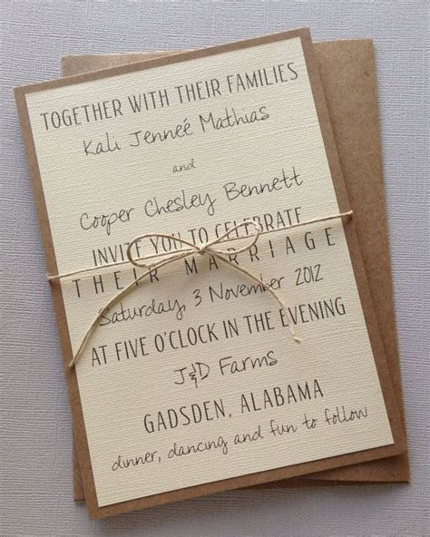 wedding invitation design ideas bridal budget