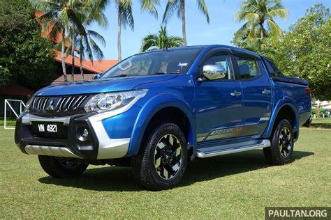 Review Mitsubishi Triton by Driven 2017 Mitsubishi Triton Vgt Malaysia Review