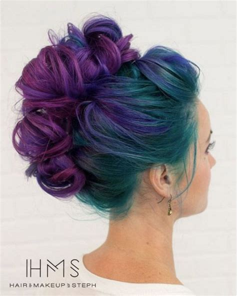 Cool Colors To Dye Hair by Cool Hair Color Ideas To Try If You Bright