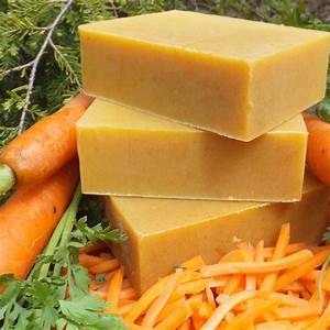 organic soap carrot honey complexion chagrin valley soap