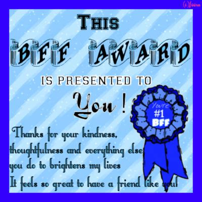 bff awards friends myniceprofilecom