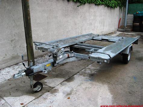 vendo carrello porta auto vendo carrello trasporto auto ellebi lba 1040